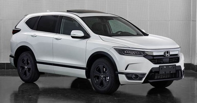 Honda Breeze for China - CR-V body with Accord face ...