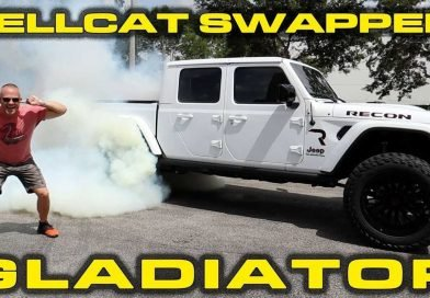 Jeep Gladiator With Hellcat Swap Does 0-To-60 MPH In 5.7 Seconds
