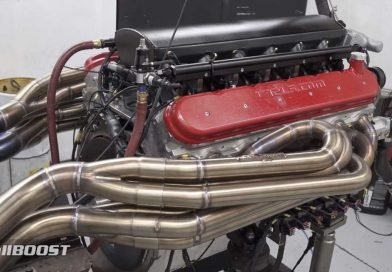 Watch And Listen As Insane 9.5-Liter LS V12 Engine Comes To Life