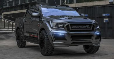 Ford Ranger Looks Bad To The Bone With Carbon Upgrades