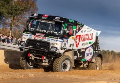 ZF and MKR Technology Reveal the World's First Hybrid Drive for the Dakar Rally
