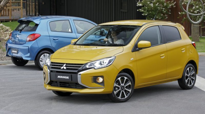 2020 Mitsubishi Mirage Facelift Standard Aeb In Au Automotobuzz Com