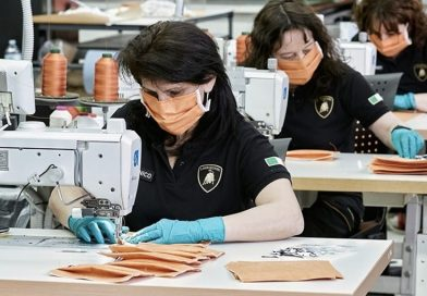 Lamborghini Starts Production Of Surgical Masks And Medical Shields