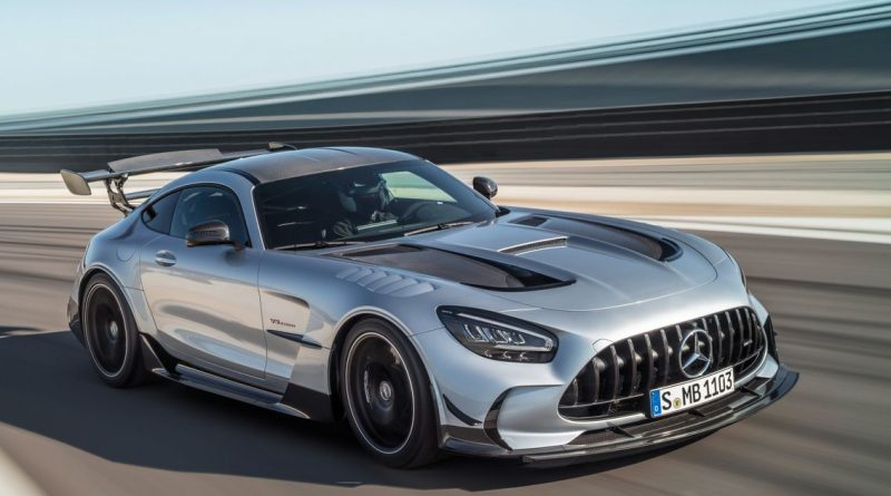 Mercedes-AMG GT Black Series Arrives With 720bhp Flat-Plane V8