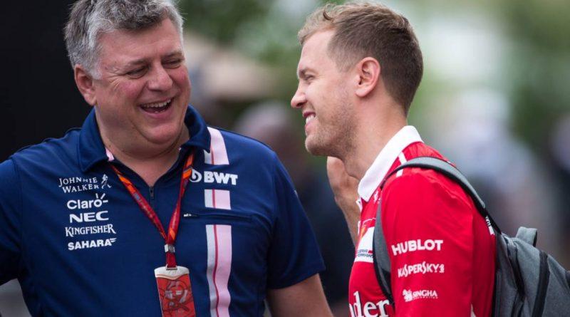 Otmar Szafnauer 'gave Sebastian Vettel lift to gas station'