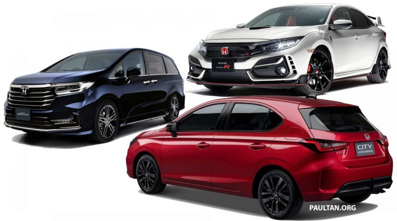 honda in 2021 - city hatchback to replace jazz, civic type