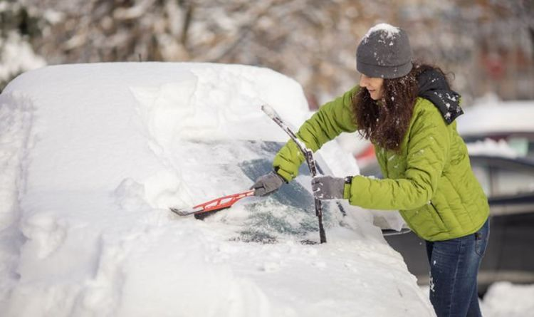 Failing to clear snow off your windscreen can invalidate ...
