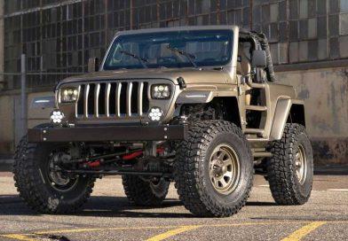 Quadratec Jeep YLJ Mixes Original And Modern Wrangler Cues In Rugged Way