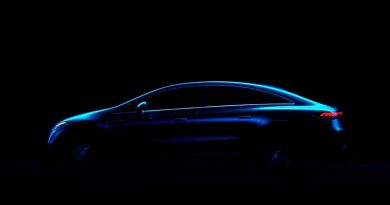 2022 Mercedes EQS Reveals Swoopy Profile In New Teaser Image
