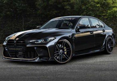 2021 BMW M3 Sedan Already Tuned By Manhart, Looks Stealthy