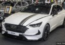 Hyundai Sonata Bob G Edition on display at ACE 2021 – black decals, 19-inch wheels, no change in price – paultan.org