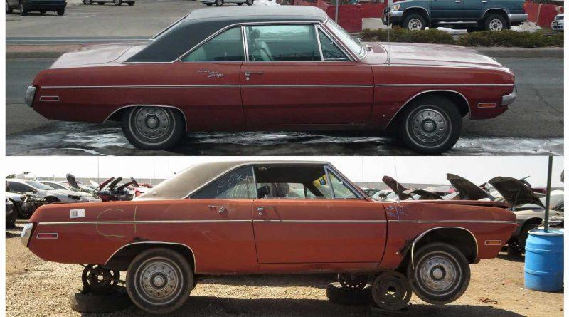1970 Dodge Dart Swinger Goes From Street to Junkyard