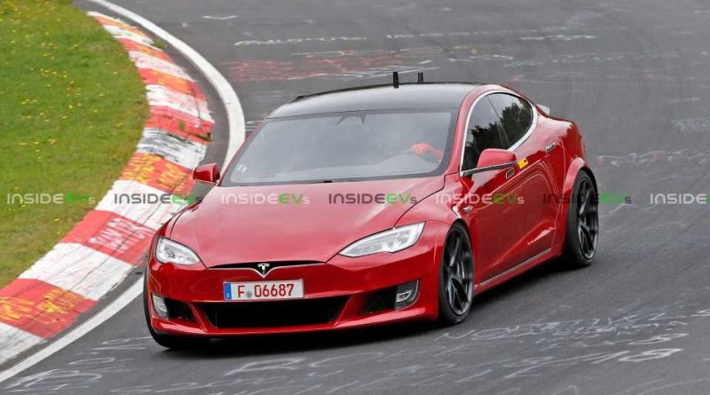 Tesla Is Trying For A Laguna Seca Lap Record In The Model S Plaid