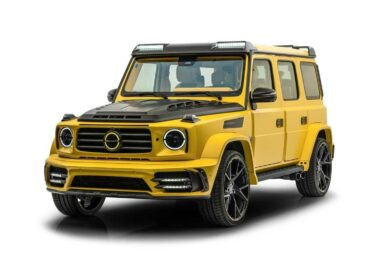 Mansory Goes Bananas With Eccentric Mercedes-AMG G63 Tuning